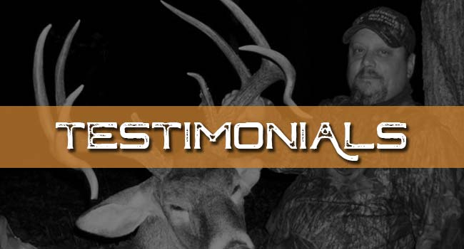 Illinois Ohio Valley Trophy Hunt  Testimonials